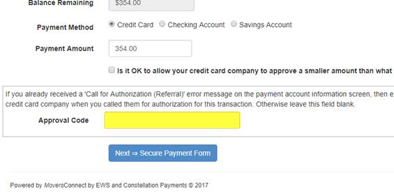 Electronic Payment Reprocessing